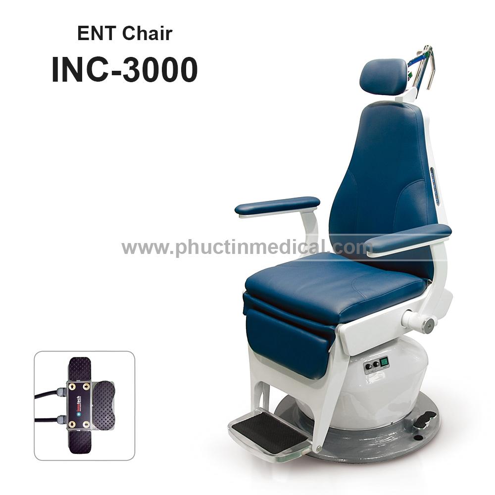 Ghế khám và điều trị tai mũi họng INC 3000 - Innotech Hàn Quốc