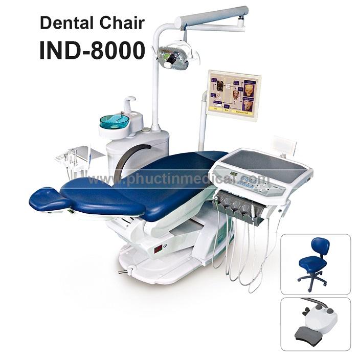 Hệ thống ghế nha khoa IND 8000 - Medone Innotech - Hàn Quốc