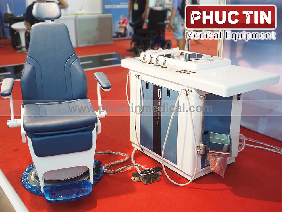 Hệ thống bàn khám tai mũi họng INU-3000  và Ghế bệnh nhân INC-3000 -|- Medone Innotech Hàn Quốc