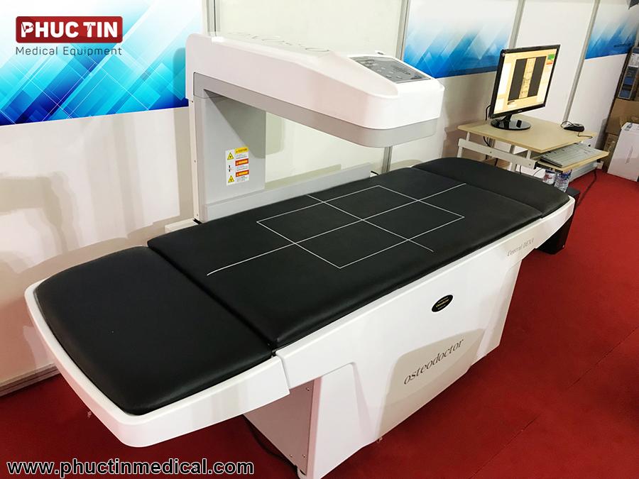 Hệ thống máy đo loãng xương toàn thân Osteodoctor tại triễn lãm Vietnam Medi-Pharm 2018
